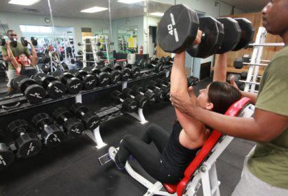 Άσκηση με βάρη για όλο το σώμα από τον Δήμο Αγγελόπουλο
